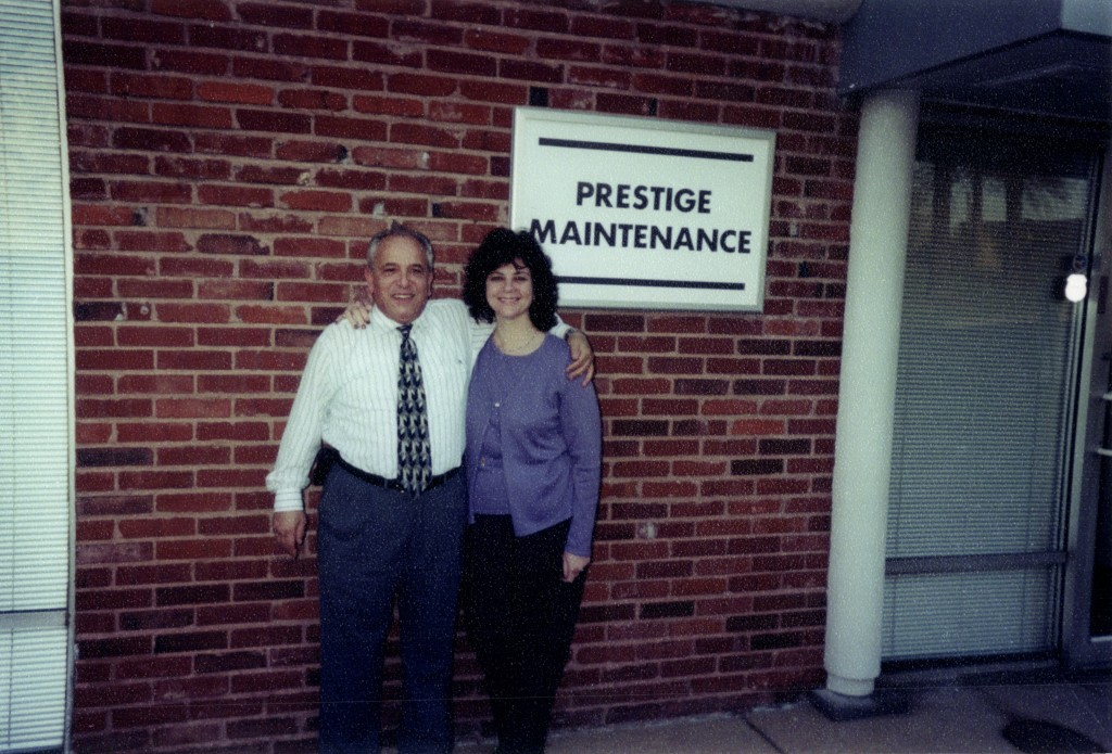 Marie and Alex Dinverno founded Prestige Maintenance USA in 1976.