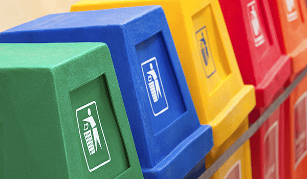 Facilities Maintenance Trends - Recycle Bins